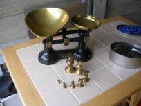 Brass weight for kitchen scales - Local Classifieds, Buy and Sell