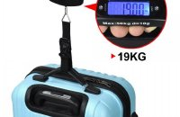 travel luggage weighing scale
