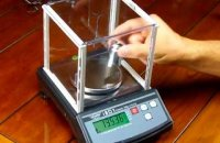 Weighing scale calibration procedure